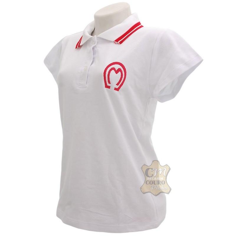 21f86e893e Camisa Polo Feminina Mangalarga Marchador