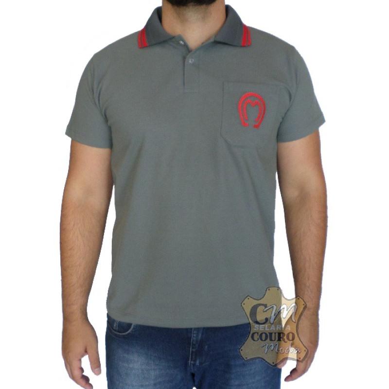 e416fd134a Camisa Polo Masculina Mangalarga Marchador