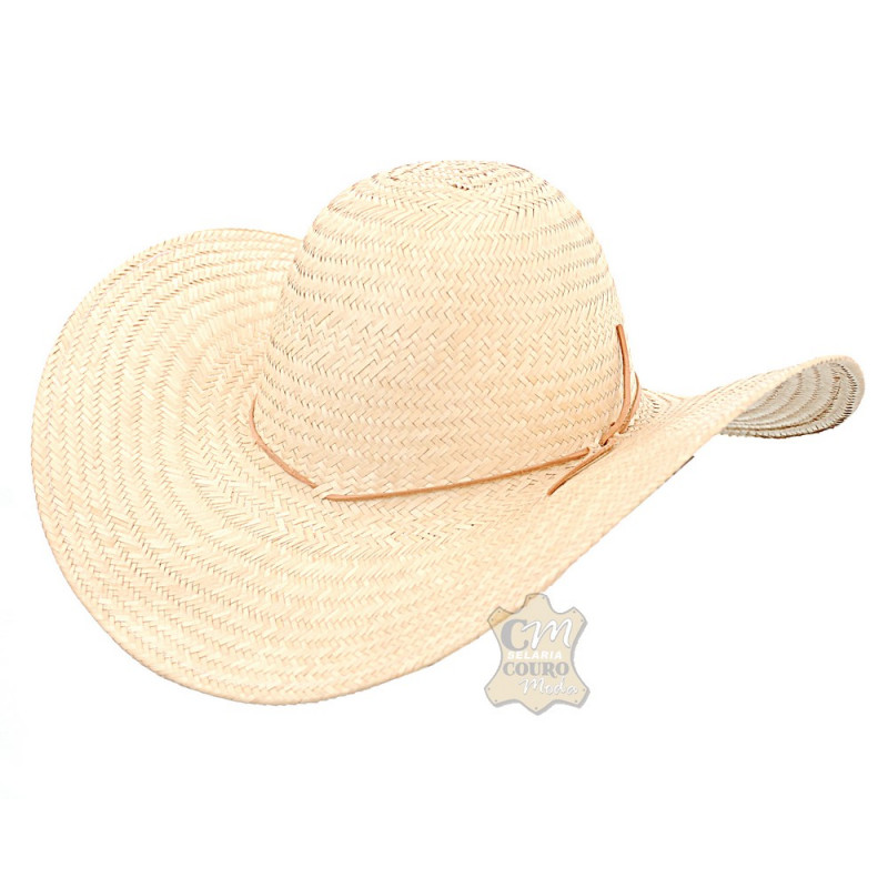 1eb38a00bca70 Chapéu de Palha Aba Grande