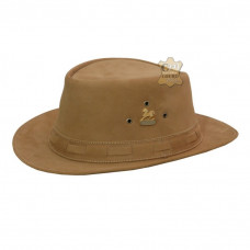 Chapéu de Couro Aba Curta