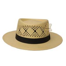 Chapéu de palha campeiro