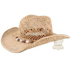 Chapéu Feminino de Palha Natural