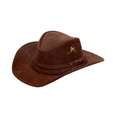 Chapéu Texano de Couro Ref: 01