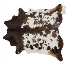 Tapete de couro pele bovina inteira REF: Exótico Tricolor