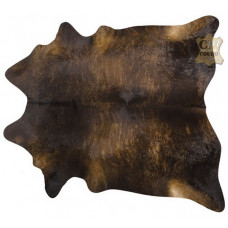 Tapete de couro pele bovina inteira REF: Exotic Dark