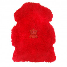 Pelego Natural Pele de Carneiro vermelho